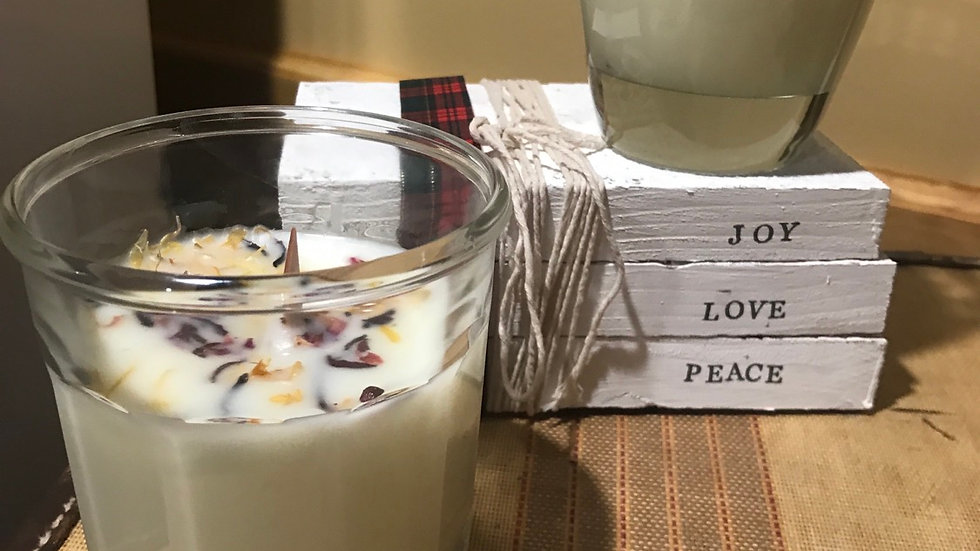 Hand Poured Lard Candle