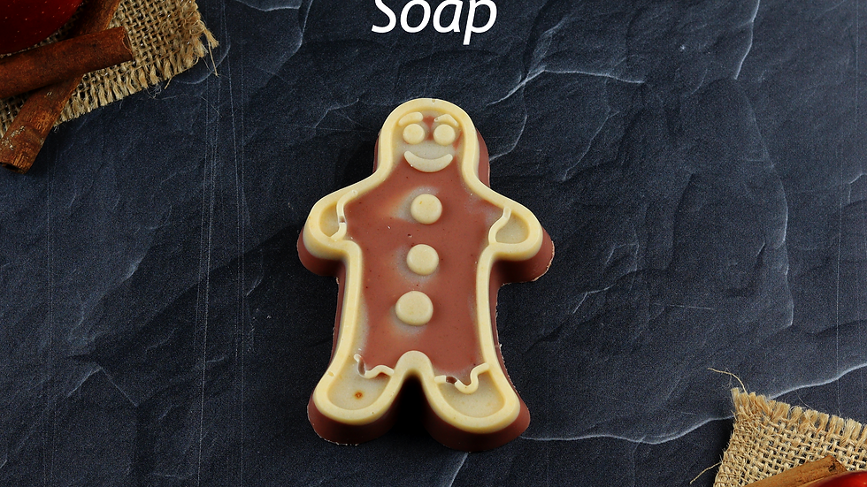 Gingerbread Shaped Soap