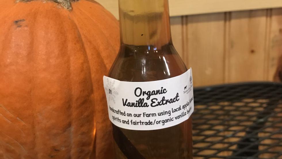 Organic Vanilla Extract - 8oz