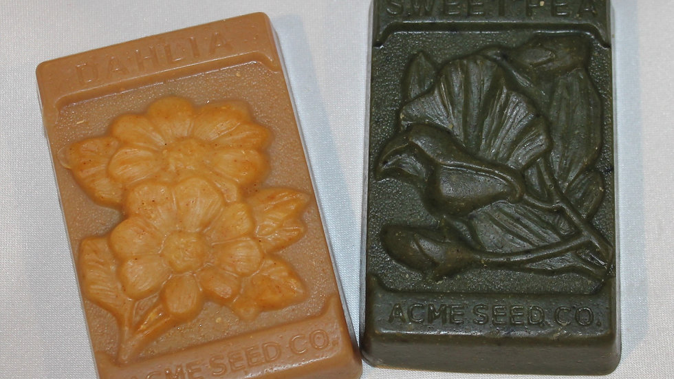 Seed Packets Soap