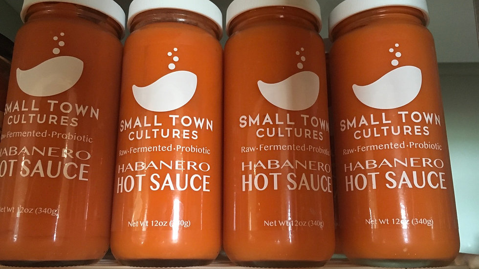 Habanero Raw Fermented Hot Sauce