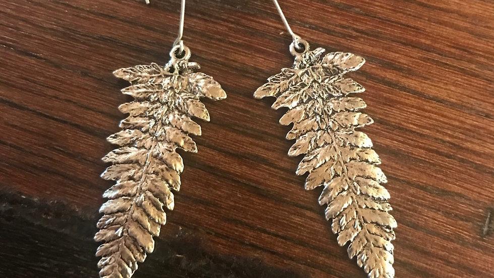 Fern Leaf Earings