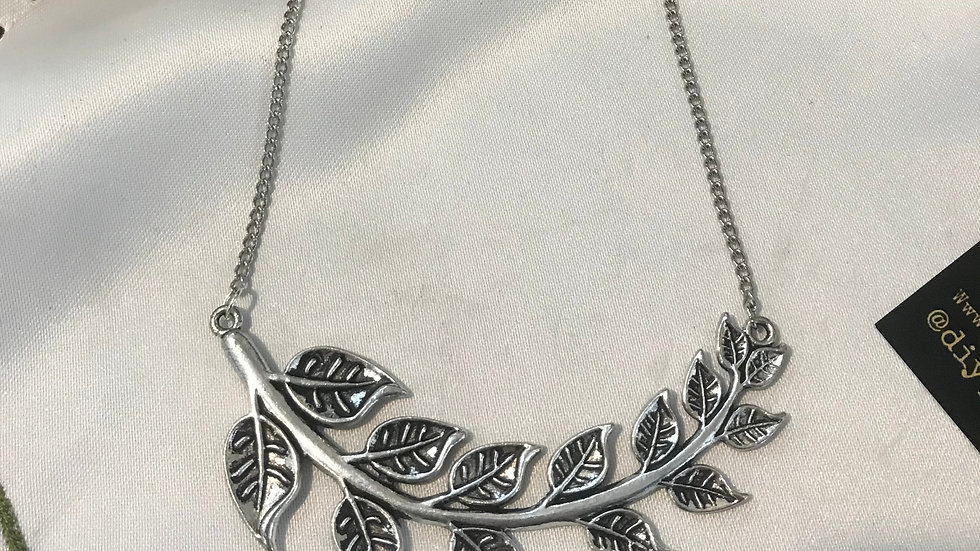 New Life Olive Branch Necklace