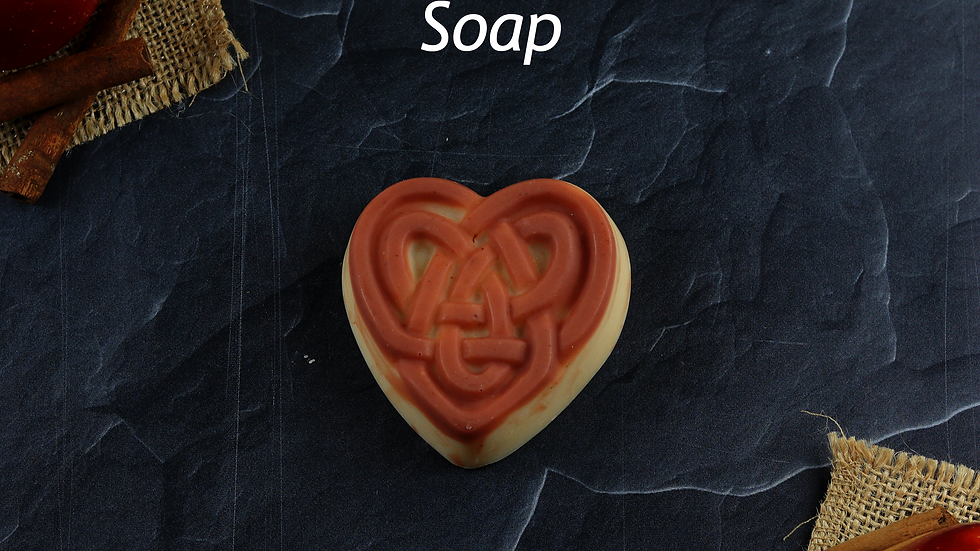 Celtic Heart Soap