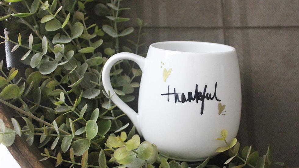 Thankful Gold Mug