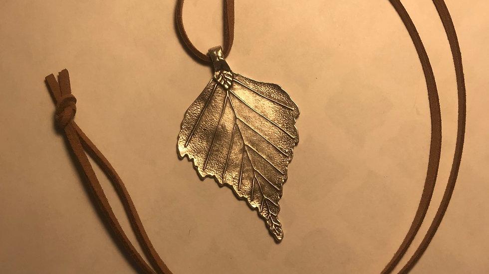 Beech Leaf Necklace