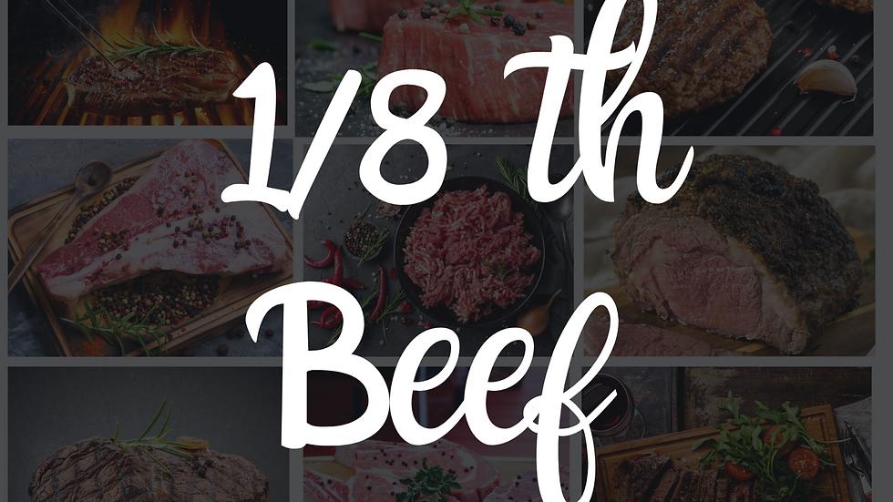 1/8th Beef Box 35LBS