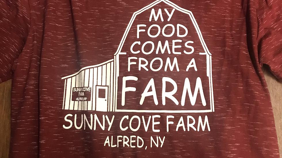 My Food From A Farm Tshirt