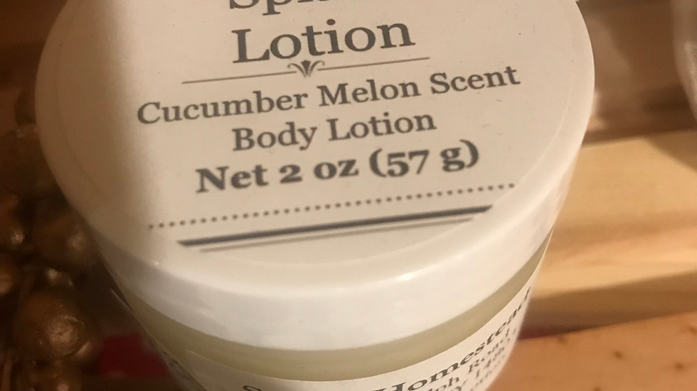 Hand Crafted Lotion
