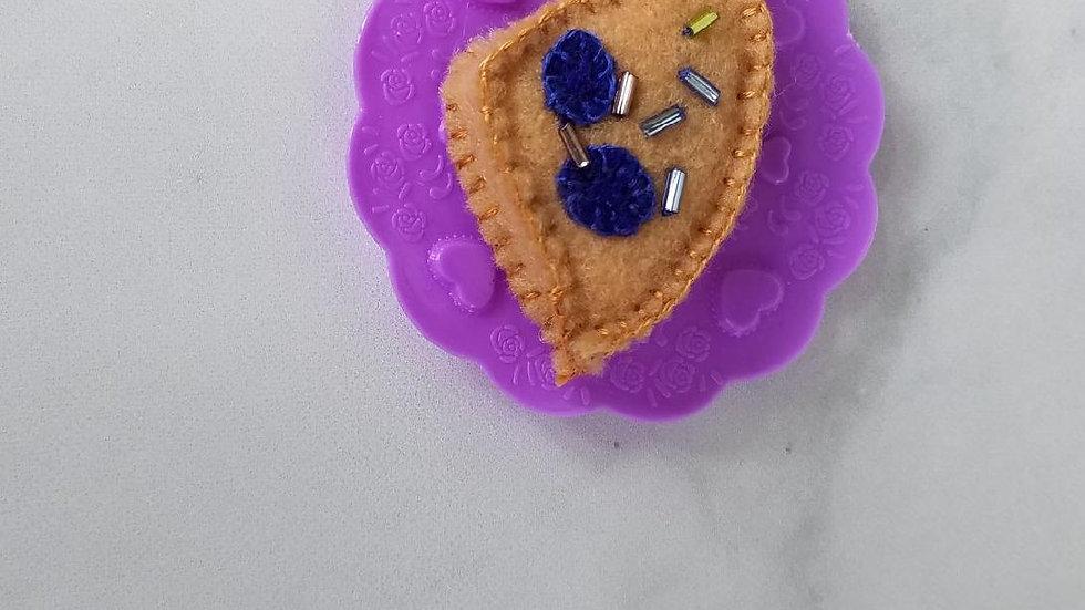 Dark Blueberry Scone