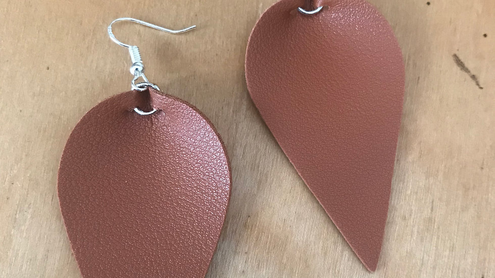 Brown Leather Petals