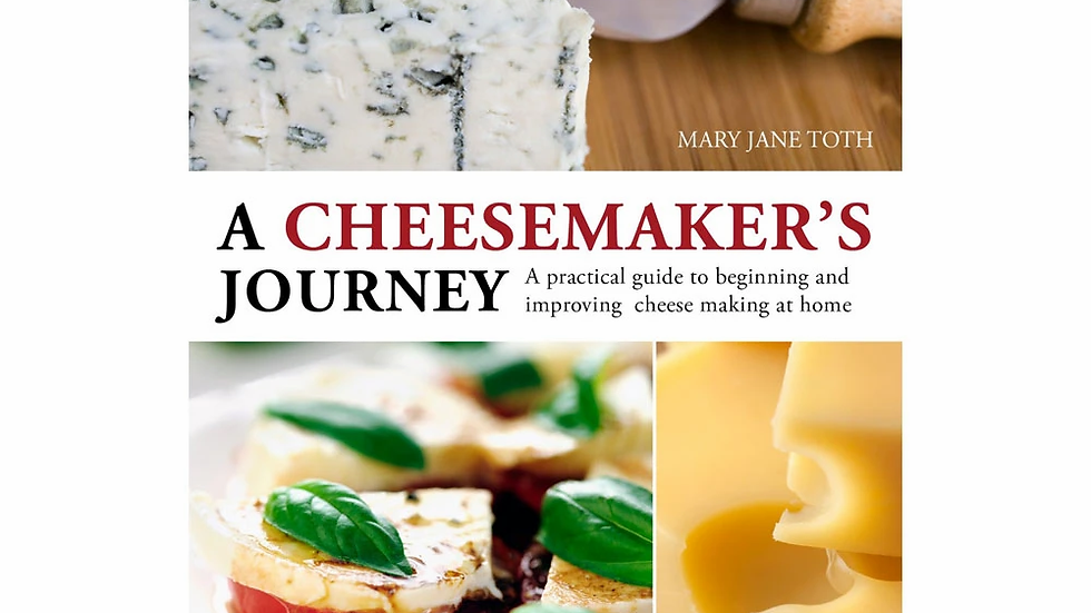 A Cheesemaker's Journey Book