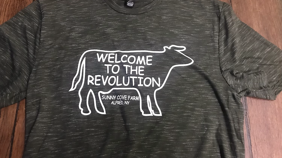 Welcome to The Revolution Tshirt
