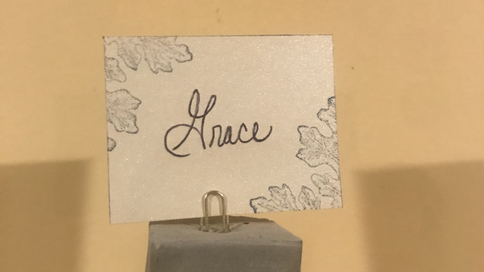 Gift Tag (Holder Sold Separately)