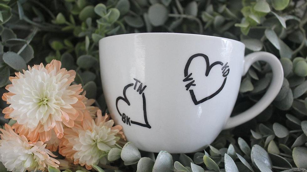 Custom Valentines Mugs