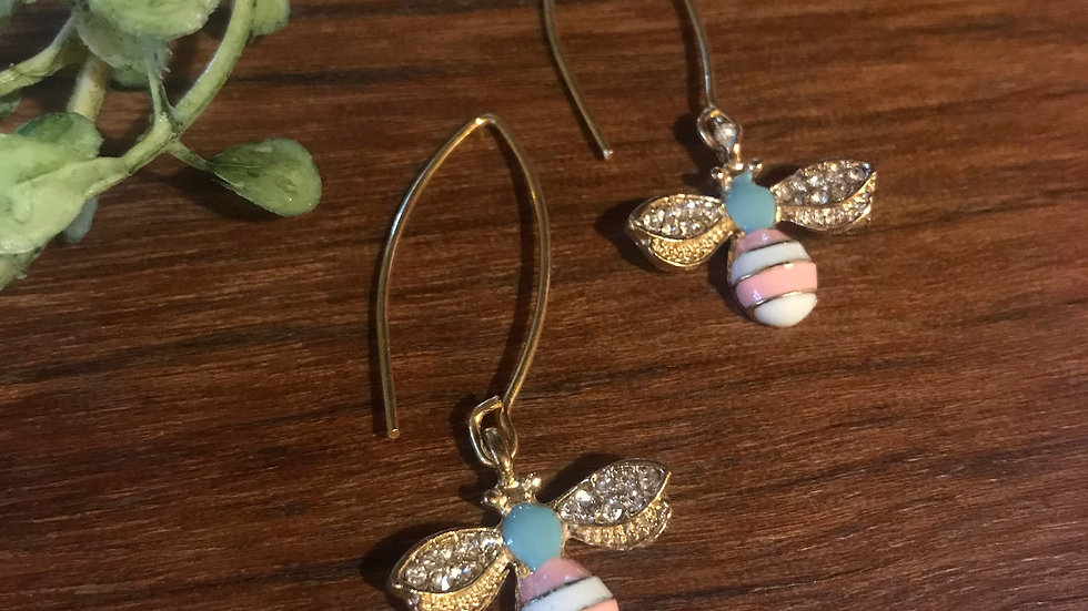Spring Bee Earrings