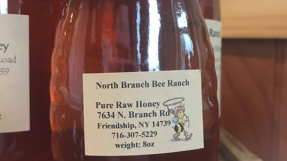 NBBR Raw Honey 8oz