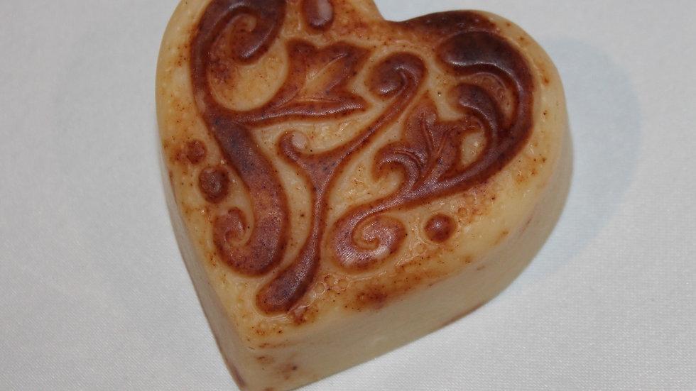 Batik Heart Soap