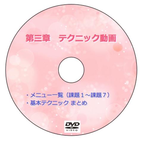 テクニック動画DVD   【受講生限定】