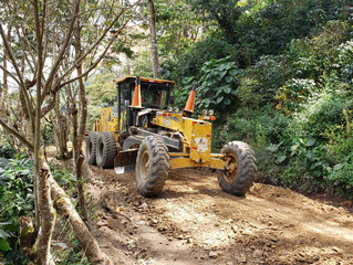 El Fondo Cafetero Nacional realiza mantenimiento en Danlí, El Paraíso