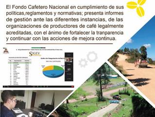 Fondo Cafetero Nacional Presenta su resumen de gestión de resultados 2019-2020.