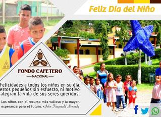 Fondo Cafetero Nacional felicita a todos los niños en su día