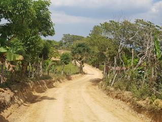 Fondo Cafetero Nacional  entrega proyecto carretero en Ocotal, Teupasenti, depto. de El Paraíso