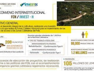FCN Firma importante convenio interinstitucional con INVEST-H