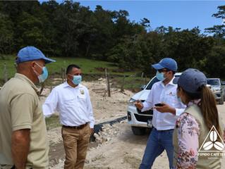 Fondo Cafetero Nacional y SAG-PROLENCA realizan proyecto de infraestructura vial en La Esperanza