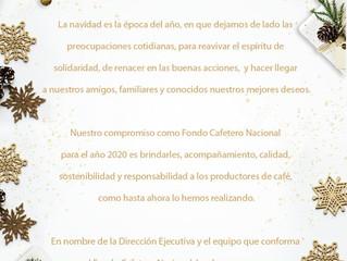 Feliz Navidad les desea el Fondo Cafetero Nacional