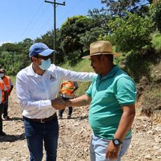 Director del FCN supervisa avance de proyectos en Comayagua en el marco del Convenio con INVEST-H