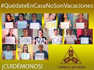 #QuedateEnCasaNoSonVacaciones