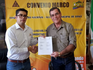 Convenio Marco Fondo Cafetero Nacional – Alcaldía Municipal de Danlí