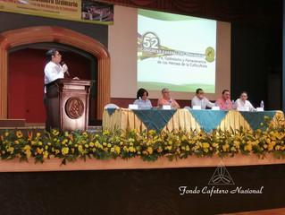 Fondo Cafetero Nacional Asiste al 52 Congreso Ordinario Cafetalero de AHPROCAFE 2019