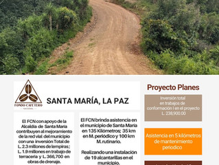 Fondo Cafetero Nacional brinda asistencia en el municipio de Santa María, La Paz