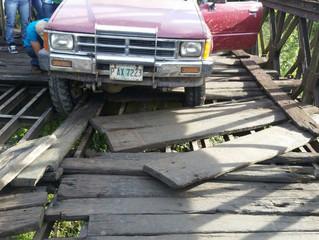 Fondo Cafetero Nacional  inicia rehabilitación de Puente Bailey en el Municipio de Trojes El Paraíso