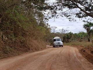 Fondo Cafetero Nacional entrega proyecto carretero en Las Lajas, Comayagua