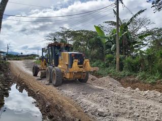 Fondo Cafetero Nacional realiza obras en la red vial del Departamento de La Paz