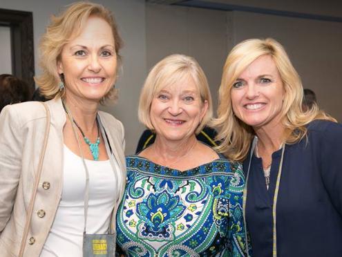 With Lori Oczkus and Glenda Nugent