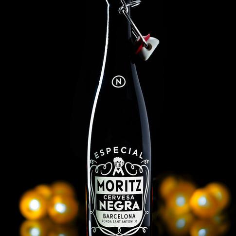 Cerveza Moritz Negra