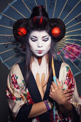 Artist Geisha