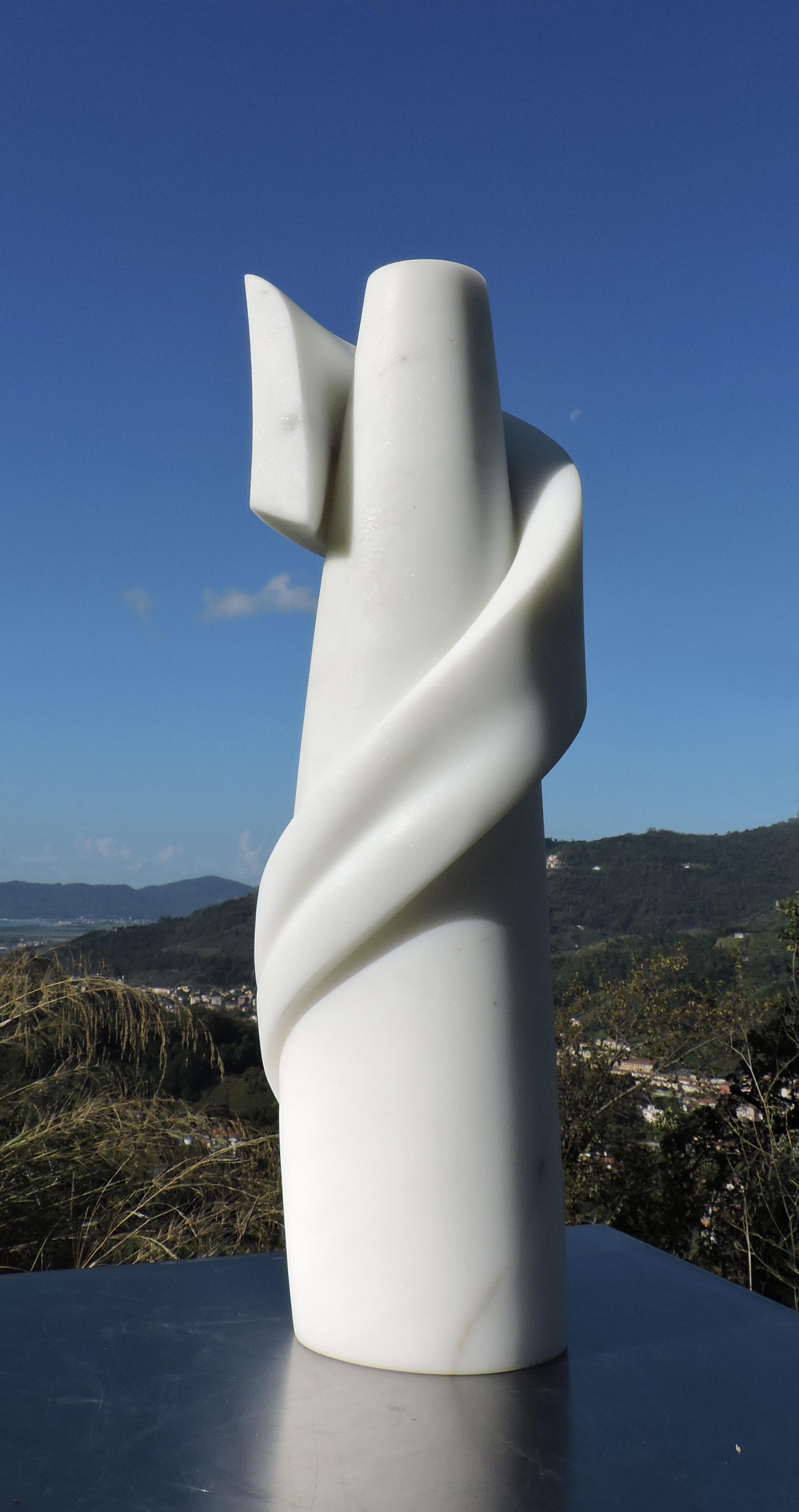 Ascend - h 46 cm  statuario marble  2013