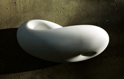 Infinity - h 16 cm  statuario marble 2010
