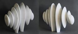 Vibrations - 37 x 13 x 33 cm marble 2020