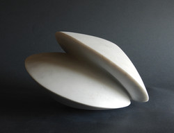 above and below - h 15 x 23 x 20 cm   marble  2019