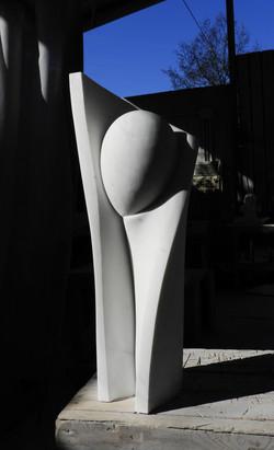 The feminine - h 73 cm  statuario marble  2021