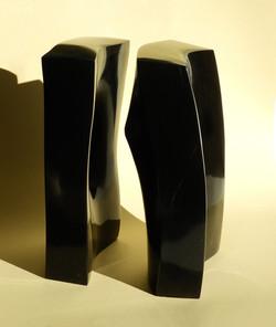 Infinite mutation  - 14 x 20 x 27 cm  black belgian marble  2020