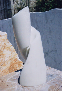 Riflesso - h 55 cm  statuario marble 2005