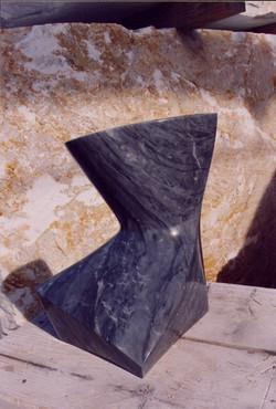 Contrasto - h 36 cm  bardiglio marble  2007