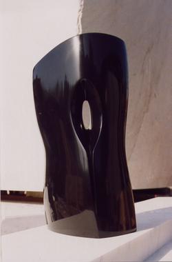 Oracolo - h 36 cm black belgian marble  2006